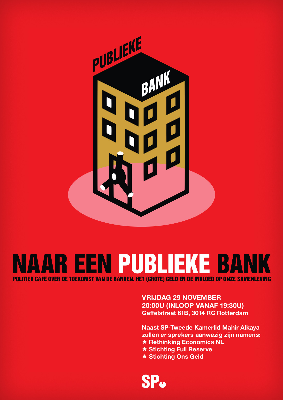 Kom naar politiek café over De Publieke Bank - SP Rotterdam